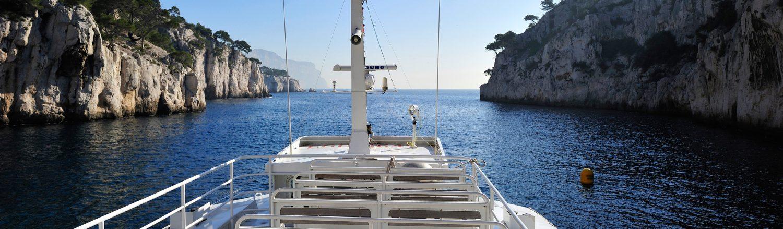 Calanques en bateau